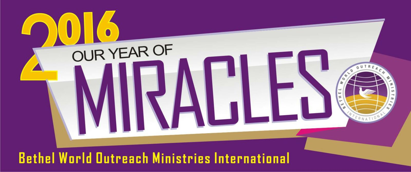 BWOMI 2016 Theme - Our Year of Miracles